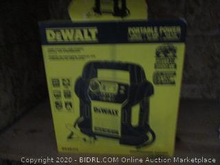 DeWalt Portable Power jump Starter/USB Power/Digital Air Compressor