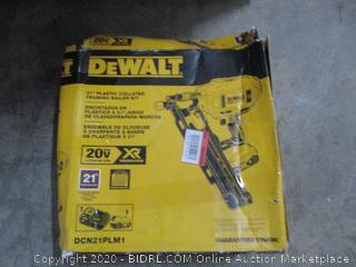 "DeWalt  21"" Plastic Collated Framing Nailer Kit  no battery"