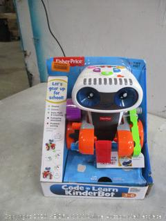 Fisher Price Code n Learn Kinder Bot