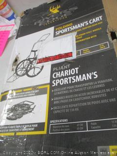 Folding sportsman's Cart