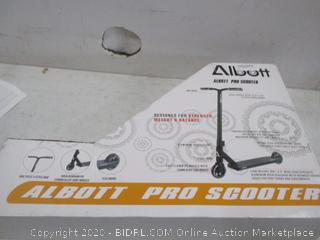 Albott Pro Scooter  see Pictures