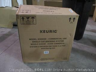 Keurig Commercial Use Gourmet Single Brewing System