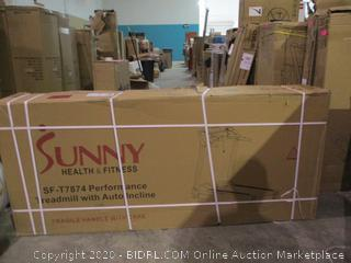 Sunny Treadmill with Autoincline factory sealed