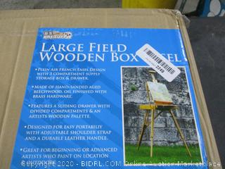 Large Field Wooden Box Easel