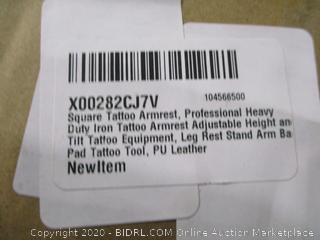 Square Tattoo Armrest