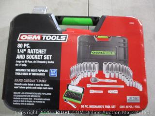 OEM Too Ratchet and Socket Set
