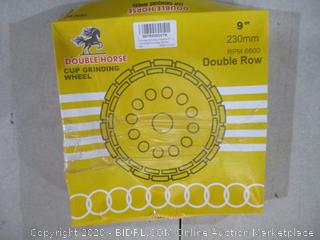 Double Horse Cup Grinding Wheel