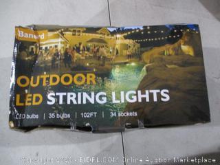 Outdoor LED String Lights