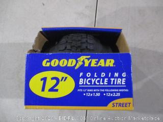 "Good Year 12"" Folding Bicycle Tire"