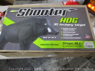 Shooter Hog achery target