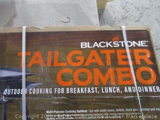 Blackstone Tailgater Combo Outdoor Cooking for Breakfast, Lunch and Dinner