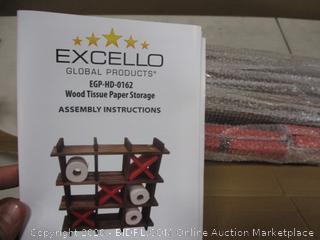Excello Wood Tissue Paper storage