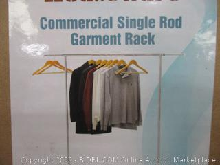 Commercial Simple Rod garment Rack