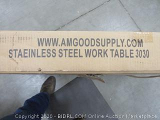 Stainless Steel Work Table factory sealed