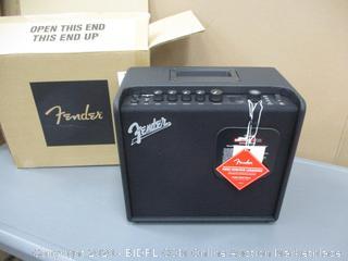 Fender Guitar Amplifier Powers On