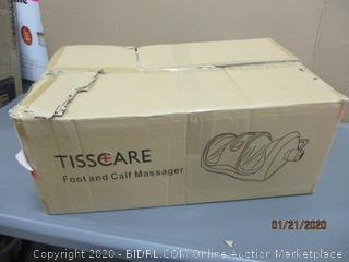 Tisscare Foot and Calf Massager Powers On