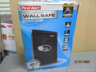 First Alert Digital Anti theft Wall Safe