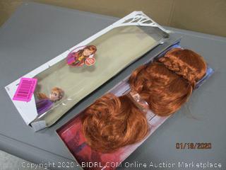 Frozen wig