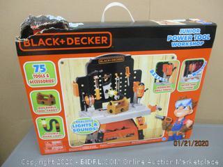 Black + Decker Junior Power Tool Workshop
