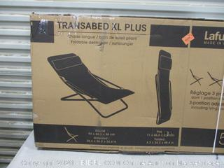 Transabed XL Plus Chaise Lounge Factory sealed