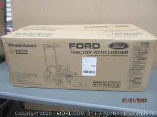 Wonderlanes Ford tractor with loader  12V Battery Operated