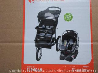Baby Trend Expedition Jogger Travel System, Phantom(Factory Sealed) COME PREVIEW!!!!! (online $130)