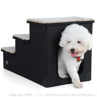 Petsfit Sturdy Dog Stairs with Inside House for Dogs (online $69)