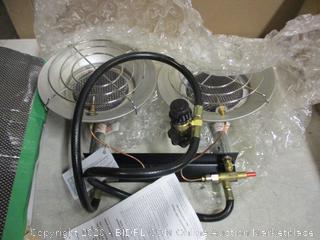 Double Propane Heater