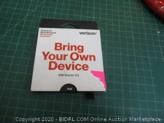 Verizon Bring Your Own Device SIM Starter Kit