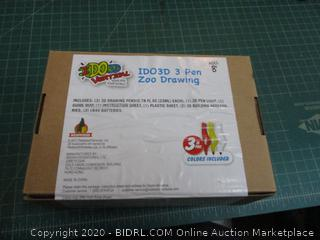 I Do 3d Vertical 3 Pen Zoo Drawing Factory Sealed