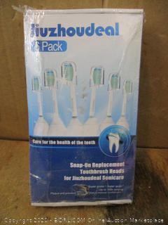 Jiuzhoudeal Replacement Toothbrush Heads