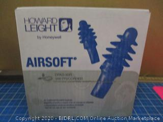 Howard Leight By Honeywell Airsoft Earplugs / condition of box may vary