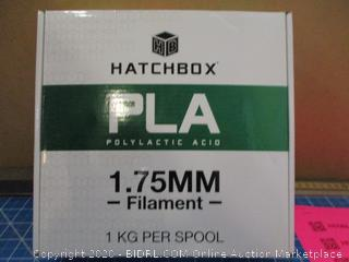 Hatchbox PLA 1.75MM Filament condition of box may vary