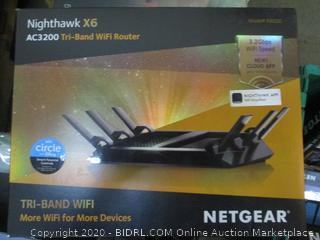 Netgear Nighthawk X6 Tri Bank WiFi Router
