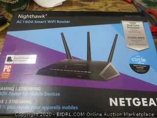 Netgear Nighhawk Smart WiFi Router factory sealed