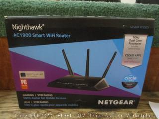 Netgear Nighthawk Smart Wifi Router factory sealed