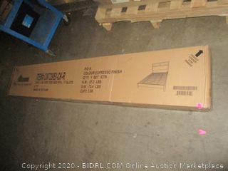 Cal King bed rails/ 13 slats and footboard