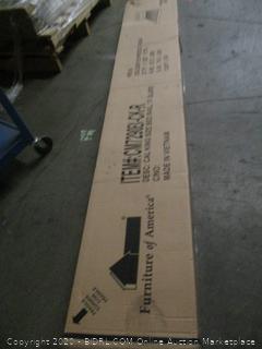 Cal King King size Bed Rail, 13 slats