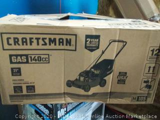 Craftsman M105 140cc 21-Inch 3-in-1 Gas Powered Push Lawn (online $229)
