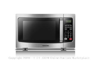 Toshiba microwave oven stainless steel (online $110)