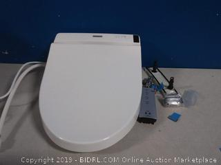 Toto washlet toilet seat(powers on/back cracked)COME PREVIEW!!!!
