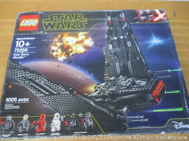 Lego Star Wars The Rise Of Skywalker Kylo Rens Shuttle 75256 Star Wars Shuttle Action Figure Building Kit Auction Bidrl Com Online Auction Marketplace