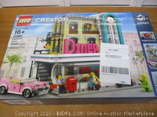 LEGO Creator Expert Downtown Diner 10260 Building Kit, Model Set and Assembly