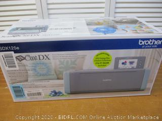 Brother SDX125E Electronic Cutting Machine (Retail $400)