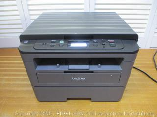 Brother Compact Monochrome Laser Printer, HLL2390DW, Convenient Flatbed Copy & Scan, Wireless Printing, Duplex Two-Sided Printing,  Dash Replenishment Enabled