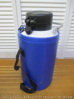 BestEquip 3L Liquid Nitrogen Container Aluminum Alloy Liquid Nitrogen Tank Cryogenic Container (Retail $180)