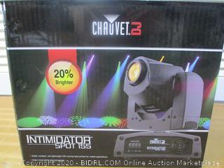 CHAUVET DJ Lighting (Intimidator Spot 110) (Retail $200)