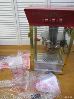Great Northern Popcorn Foundation Movie Theater Style Popcorn Machine Top