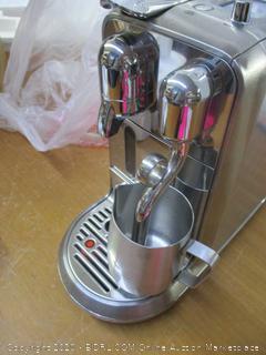 Breville Nespresso Creatista Plus Coffee Espresso Machine (Retail $600)