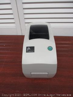 Zebra - TLP2824 Plus Thermal Transfer Desktop Printer for labels, Receipts, Barcodes, Tags, and Wrist Bands (Retail $450)